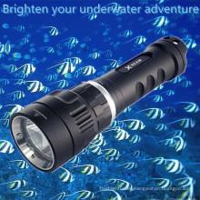 Beweglicher magnetischer Schalter-nachladbares Aluminium wasserdichtes Minisandwasser-Fischenlicht