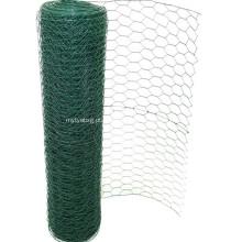 Tela de arame hexagonal revestida de PVC de alta qualidade
