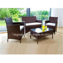 All Weather Simple Style Rattan Wicker Patio Outdoor Furniture Set