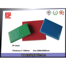 China Hot Selling Reusable PP Plastic Sheet