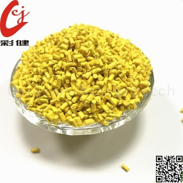 PVC Yellow Wire Masterbatch Granules