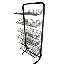 Store or Supermarket Wire Display Rack
