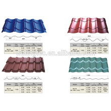 high quality roof steel tile sheet prices