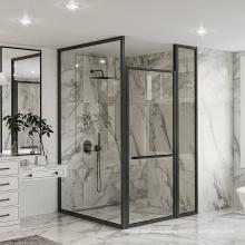 Seawin Lifetime Warranty Large Swing Glass bath Rooms pivot Shower Door