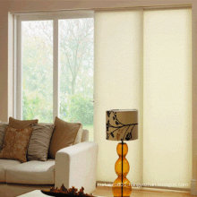 Modern decorative panel blind for door