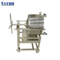Carcaça de filtro de aço inoxidável da indústria química SS316L
