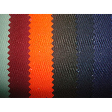 Polyester Cotton Blenched Solid Twill Fabric