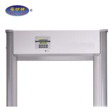Nouveau détecteur de métaux de cadre de porte muti-Zone international walkthrough