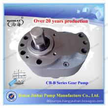 Horizontal hydraulic gear pump