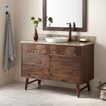Le meuble de salle de bains résistant à l'eau simple Vanity Base vanité de salle de bains moderne élégant fait en Chine