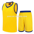 2017 best quality competitive price basketball jersey new model plain basketball uniform kit