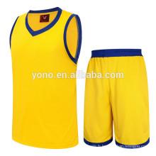 Meilleur prix concurrentiel prix basket-ball jersey nouveau modèle en gros ensemble sublimation uniforme
