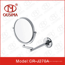 Espejo de espejo redondo redondo montado en la pared lateral