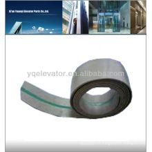 Ceinture de sécurité pour ascenseur et ceinture en caoutchouc pour ascenseur
