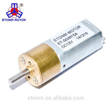 Intelligenter Verriegelungshauptgehäusemotor des Miniatur-DC-Getriebemotors