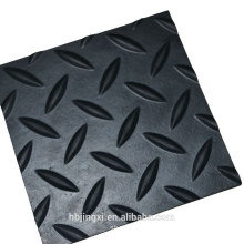 Willow / Diamond Anti-Slip Rubber Sheet For Floor Matting