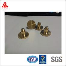 Messing geschlitzte Runde Kopfschraube Made in China