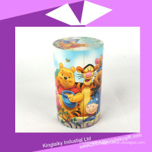 Promotional Cylinder Puzzle Cube Toy for Kids Mc016-006