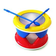 Juguete de bebé de tambor de plástico de alta calidad