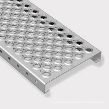 Good Quality Steel Bar Grating Perforated Metal Steel Grating for Stair Tread