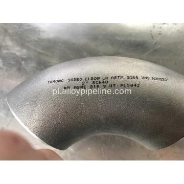 ASTM B366 N08020 Alloy20 Butt Welding Incoloy Fitting