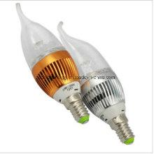 E14 Ce y la luz de la vela de Rhos 3W LED