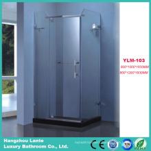 Modern Aluminium Alloy Simple Sliding Door Shower Enclosure (LTS-103)
