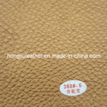 Couro 2014 do sofá / couro sintético do couro ligado / plutônio
