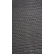 Tissu de polyester de Jacquard de torsion de 500d avec le revêtement d'Uly