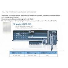 Ascensor operador de puerta asíncrono AC, dos paneles, apertura lateral