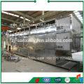 China Secador de correia de malha, secador de várias camadas, secador a vapor