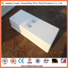 Base de clôture en PVC de haute qualité