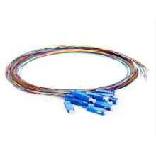 Cabo de fibra SC codificado por cor Pigtail