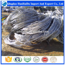 Hot venda de alta qualidade 99,9% de sucata de fio de alumínio com preço razoável e entrega rápida!