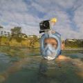 Máscara de snorkel de cara completa Padi