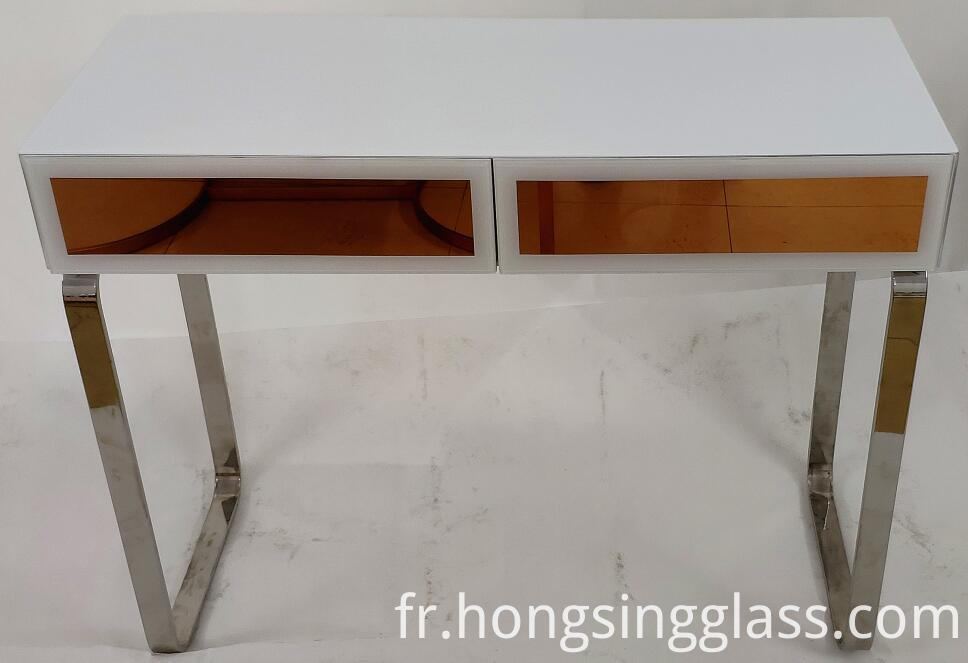 Rose Gold And White Dressing Table Mfrs 004