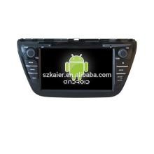 Viererkabelkernauto-DVD-Spieler mit gps, wifi, BT, Spiegelverbindung, DVR, SWC für Suzuki 2013 SX4