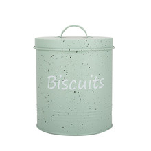 Harbor Housewares Metal Biscuit Tin - Crema