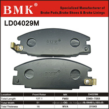 Hochwertige Bremsbeläge (D4029M)