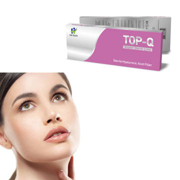 2020 TOP-Q 2ml Injectable Hyaluronic Acide Injection Face Dermal Filler pour le remplissage des lèvres