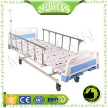 CE & ISO einstellbare 3 Kurbeln manuelle Krankenhausbett