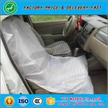 couverture de siège de voiture en plastique anti-dérapante jetable adaptée aux besoins du client