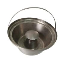 customized sheet metal ash bucket custom stainless steel bucket
