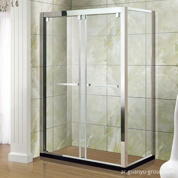 Stainless Steel Temper Glass Shower Room