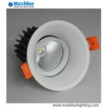 Triac 0-10V Dali Dimmable encastré LED COB Downlight