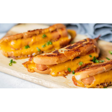 aditivo alimentario para hot dog con queso