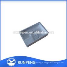 Produit de communication en aluminium coulé en fonte