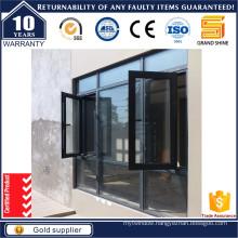 Mobile Louver Double Glazed Aluminum Window with Australian Standard