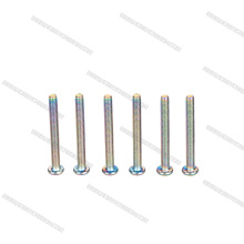 En stock tornillos de acero inoxidable anodizado de alta precisión
