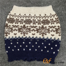 Three Colour Jacquard Knitting Thermal Wear For Winter